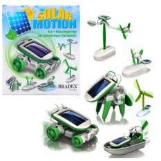 Конструктор на солнечной батарее 6 в 1 Solar motion