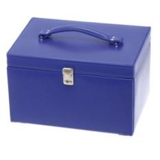 Синяя шкатулка для украшений Davidt's