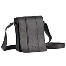 Универсальная мужская сумка из телячьей кожи