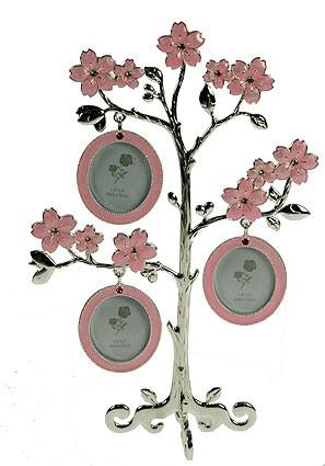 Фоторамка-дерево на 3 фото