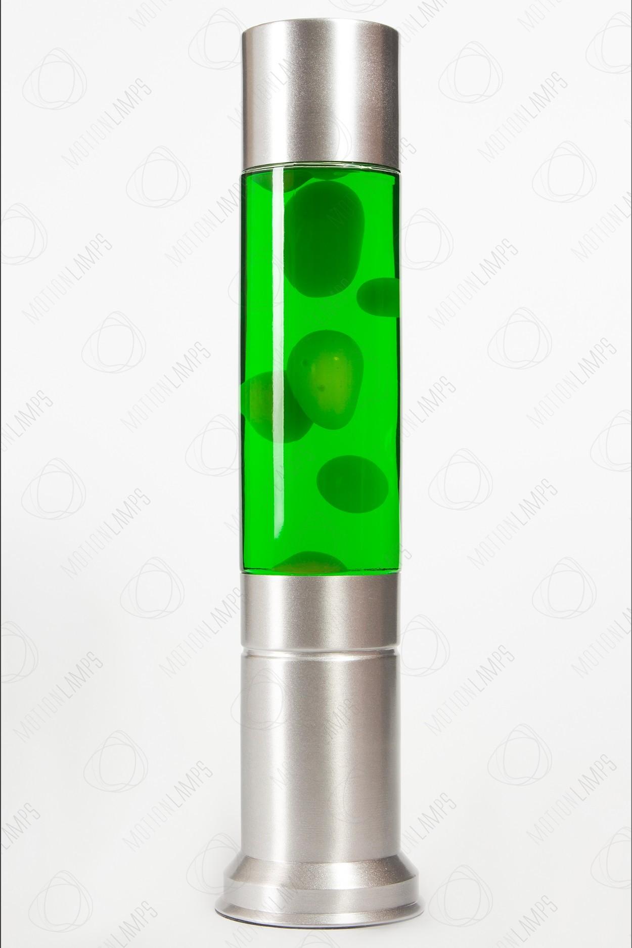 Желто-зеленая лава-лампа