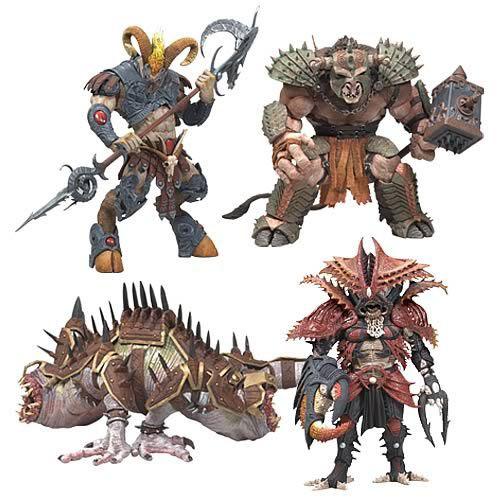 Набор из 4-х фигурок  Warriors of the Zodiac