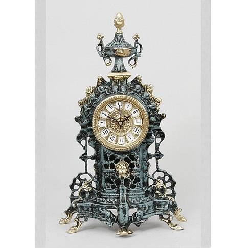 Часы бронзовые каминные с кубком