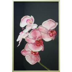 Картина с кристаллами Swarovski Орхидея