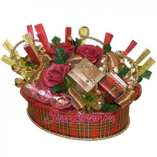 Букет из конфет Шотланка-1