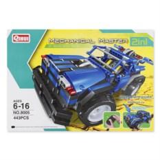 Электромеханический конструктор для мальчиков Sportscar