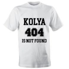 Именная футболка 404 Is Not Found