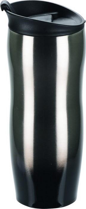 Термокружка на 450 мл, черная