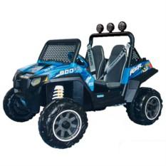 Детский электромобиль Polaris Ranger Blue от Peg-Perego