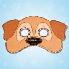 Карнавальная маска «Собачка»