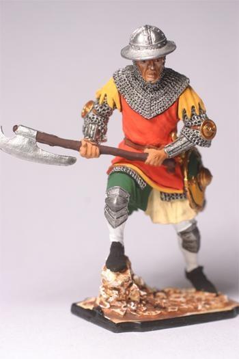 Полуколлекционный оловянный солдатик