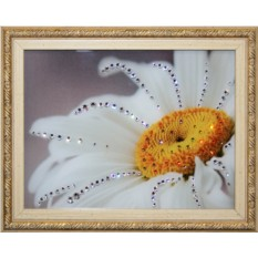Картина с кристаллами Swarovski Лепесток