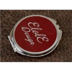 Карманное зеркальце, коллекция Elole Design (красный, тип 2)