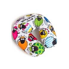 Подушка-подголовник с маской для сна Посчитай овечек