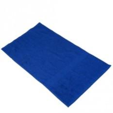 Синее банное полотенце Large