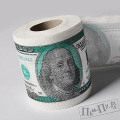 Туалетная бумага «100 долларов»