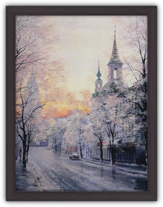 Картина (репродукция) Москва (Зима)