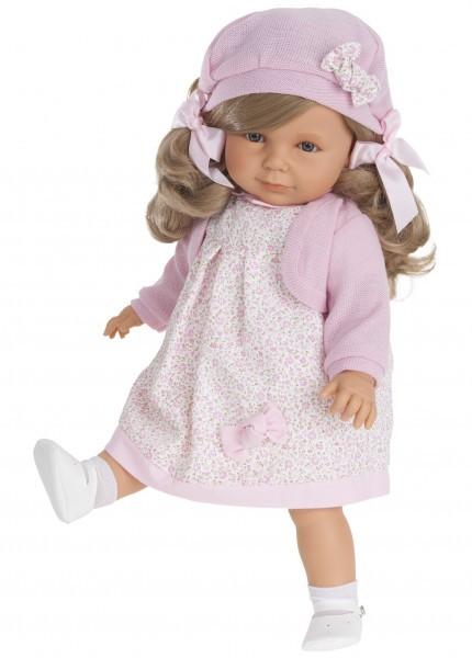Озвученная кукла-малыш Анита в розовом