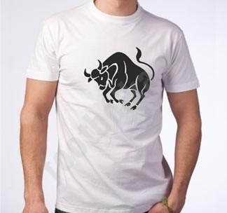 Мужская футболка Телец
