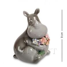 Фигурка Носорог с букетом (Pavone)