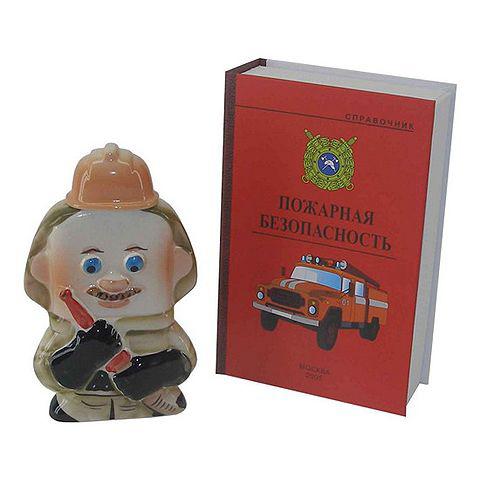 Штоф «Пожарник»