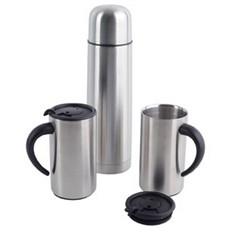Набор: термос, 2 кружки в дорожной сумке