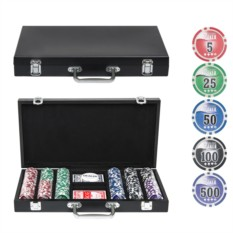 Набор для покера на 300 фишек Wood