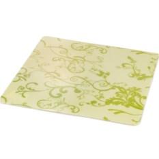 Зеленая салфетка под посуду Casa 40х40 см