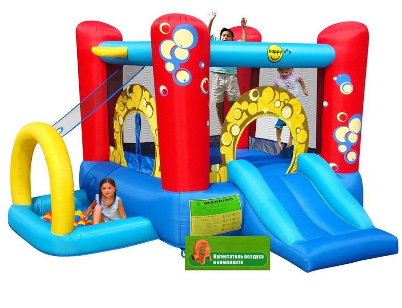 Детский игровой центр 4 в 1 Праздничные пузыри