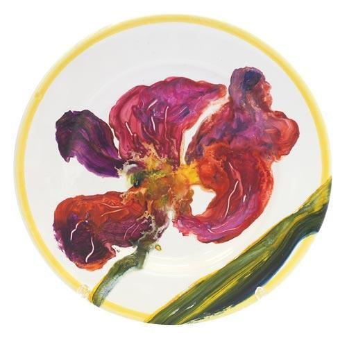 Декоративная тарелка Ирис на подставке