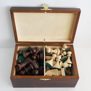 Шахматные фигуры в коробке Стаунтон турнирные-5
