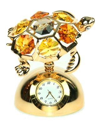 Фигурка декоративная с часами Черепаха
