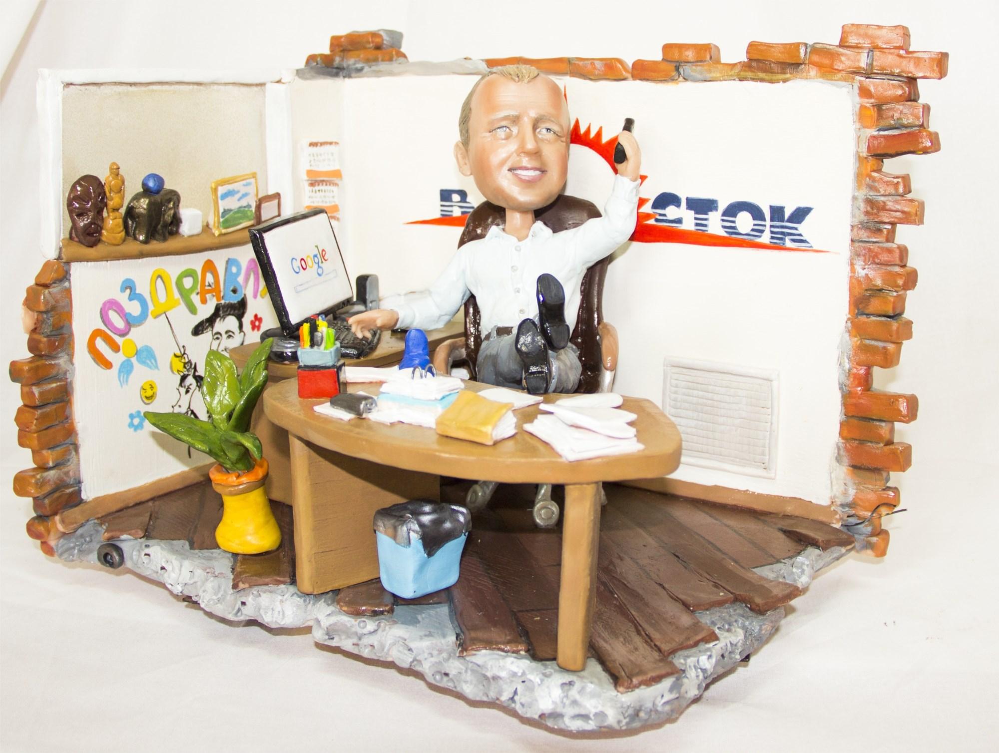 Статуэтка по фото 25-й рабочий час у шефа