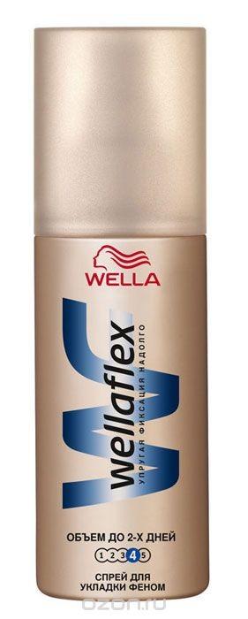 Wellaflex Спрей для укладки феном, экстрасильная фиксация