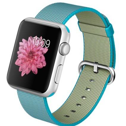Apple Watch Sport 42mm with Woven Nylon (цвет Scuba Blue)