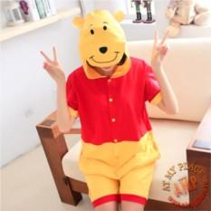 Легкая пижама кигуруми Винни-Пух