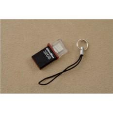 Флешка-брелок OltraMax USB 2.0 32Gb (черная)