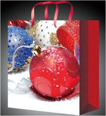 Подарочный новогодний пакет