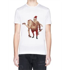 Мужская футболка «Плохой Санта»