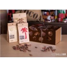 Подарочный набор для приготовления шоколада «Сладкоежке»