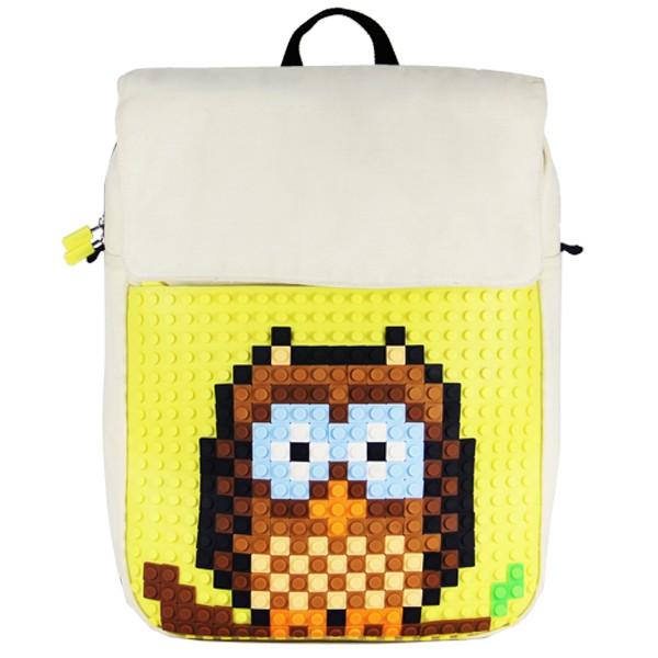 Рюкзак Creative Pixel, желтый