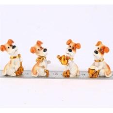 Декоративная фигурка Собака, размер 3 х 2 х 5 см
