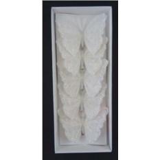 Украшение декоративное Белая бабочка