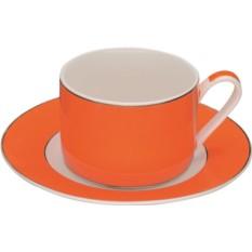 Оранжевая чайная пара Риом