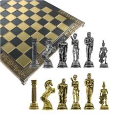 Металлический шахматный набор Римский легион