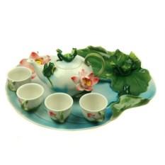 Подарочный набор для чайной церемонии Лягушка
