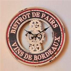 Настенные ретро-часы «Париж»