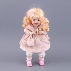 Фарфоровая кукла с мягконабивным туловищем Jiangsu Holly