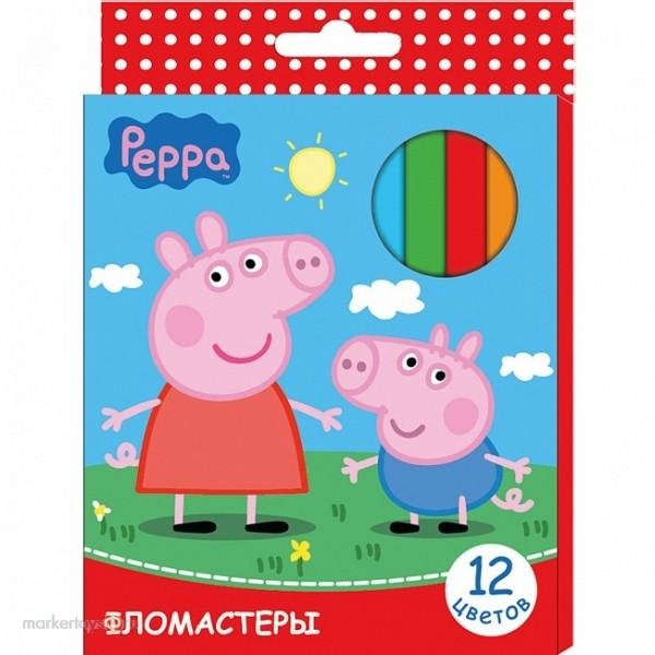 Фломастеры «Свинка Пеппа»