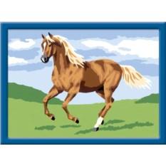 Набор Ravensburger Лошадь в поле. Раскраски по номерам